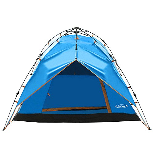 Big Sale G4free Instant 3 4 Person Dome Tent Double Wall