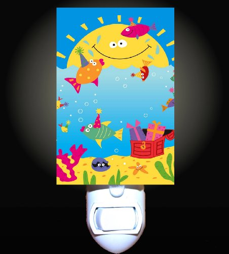 Children's Ocean Fish Party Decorative Night Light