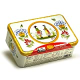 Ker Cadelac French Butter Cookies - Galettes de Bretagne in Quimper Art Breton Tin - 11.4 oz.