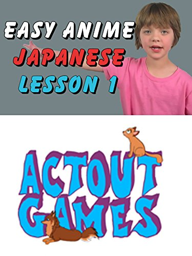 Easy Anime Japanese Lesson 1