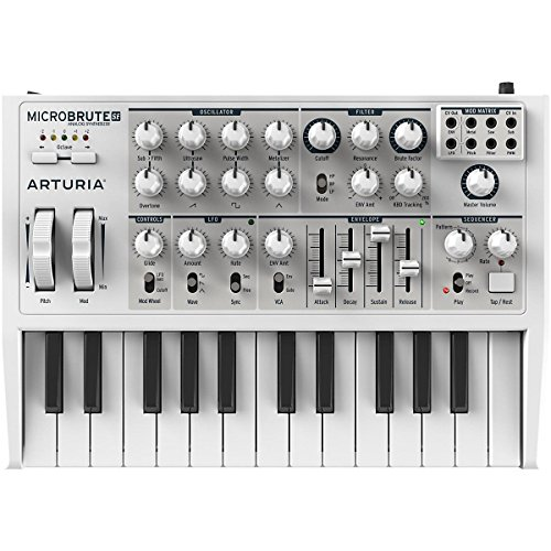 Why Choose Arturia MicroBrute SE Analog Synthesizer - White Limited Edition