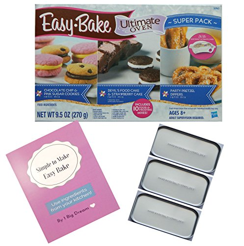 Easy Bake Oven Pans With Mixes For Ultimate Easy Bake Oven And Cookbook For More Recipes (Easy Bake Spatula compare prices)