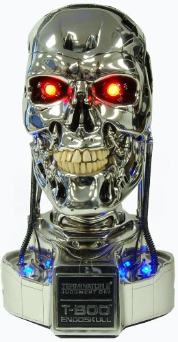 Picture of Toynami Terminator 2 Judgement Day Endoskull 1:1 Scale Bust Figure (B003M7CFDI) (Toynami Action Figures)