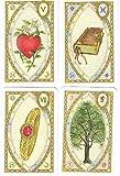 Lenormand Wahrsagekarten - Mit Astrologischen Symbolen - Dipl. Ing. Hildegard Leiding