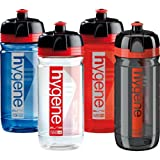 Elite Hygene Corsa Bacteria Resistant Plastic Water Bottle - Clear Red, 550ml