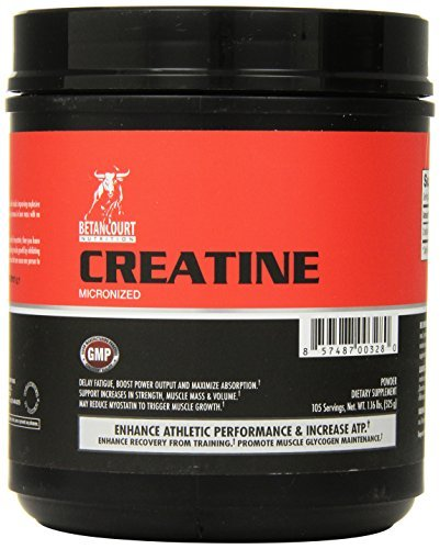 Betancourt Nutrition Creatine Micronized Nutritional Supplement, 525 Gram