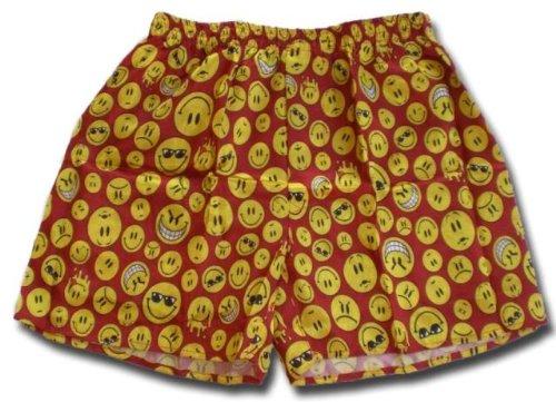 (XL) Boxers Boxer Boxershort Shorts Underwear SMILIES Men Woman Girl Boy