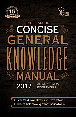 Concise General Knowledge Manual 2017