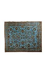 CarpeTrade Alfombra Deluxe Persian Vintage (Azul/Marrón)