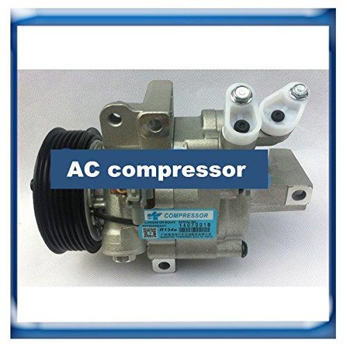 GOWE ac compressor for Zexel DKV06R ac compressor for Citroen C1/Peugeot 107/Toyota Aygo 883100H020 88310-0H020 TSP0155882 699392