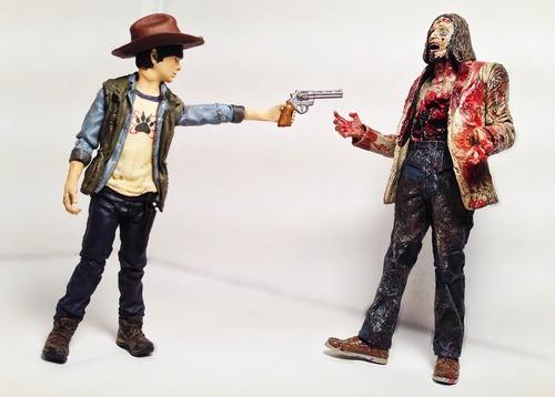 Amazon.com : McFarlane Toys The Walking Dead TV Series 4 Carl Grimes Action Figure
