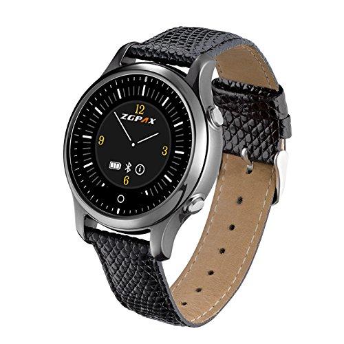 ZGPAX-S360-Bluetooth-Smart-Watch-Montre-Intelligente-Enfant-SOS-Le-Positionnement-GPS-Suivi-de-Sport-Alertes-de-SMS-Pour-Samsung-Iphone-Android-Smartphone-IOS-72-abpve-und-Android-40-above-Noir