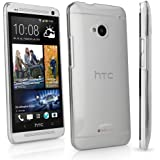 BoxWave HTC One (M7 2013) Crystal Shell - Slim-Fit Ultra Lightweight Transparent Polycarbonate Clear Hard Shell Case Designed for HTC One (M7 2013) - Cases and Covers (Crystal Clear)