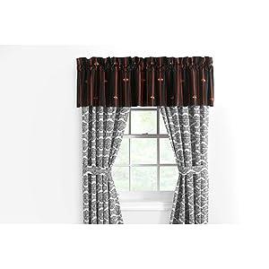 harley davidson rod pocket 84x63 flame rider fireball drapery curtains w tie backs. Black Bedroom Furniture Sets. Home Design Ideas