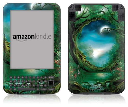 DecalGirl Kindle Skin (Fits Kindle Keyboard) Moon Tree (Matte Finish)