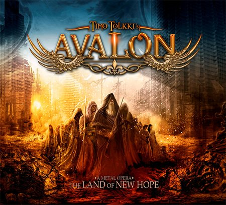 Pop CD, Timo Tolkki's Avalon - The Land Of New Hope[002kr]