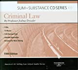 Dressler's Sum and Substance Audio on Criminal Law, 5th (Disc for a MP3 Download) (English and English Edition)
