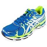 ASICS Mens Gel-Nimbus 16 Running Shoe,Island Blue/Lightning/Lime,12.5 M US