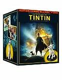 echange, troc Les Aventures de Tintin : Le Secret de la Licorne - Coffret collector édition limitée (Blu-ray + DVD + statuette Weta collect