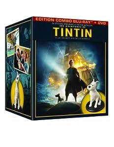 Les Aventures de Tintin : Le Secret de la Licorne - Coffret collector édition limitée (Blu-ray + DVD + statuette Weta collector de Milou) - Exclusivité Amazon.fr