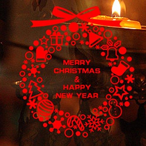 wandsticker4u-imagen-de-ventana-corona-de-feliz-navidad-y-feliz-ano-nuevo-merry-christmas-happy-new-