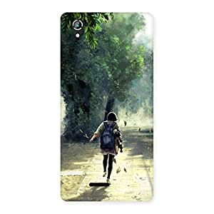 Stylish Back To Home Back Case Cover for Lava Iris 800