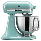 KitchenAid KSM150PSAQ Artisan Series 5-Qt. Stand Mixer with Pouring Shield - Aqua Sky