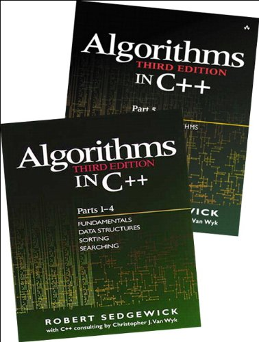Bundle of Algorithms in C++,  Parts 1-5:Fundamentals, Data Structures,Sorting, Searching, and Graph Algorithms: Fundamentals, Data Structures, Sorting, Searching and Graph Algorithms Pts. 1-5