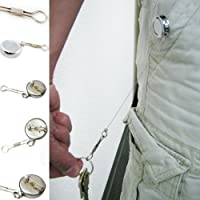Retractable Reel Id Key Badge Access Card Holder 20