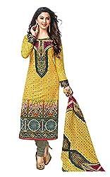 RK Fashion Womens Cotton Un-Stitched Salwar Suit Dupatta Material ( YOGESH-MCM-LIFESTYLE-SANA-147-Multi-Coloured-Free Size)