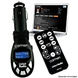 The Carmen Car Audio Player (Black)