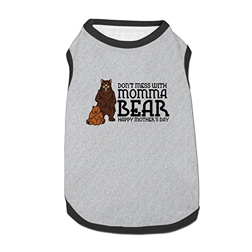 [Don't Mess With Momma Bear Dog-coats For Puppy] (Grandma Moses Costume)