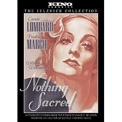 Nothing Sacred: Kino Classics Edition