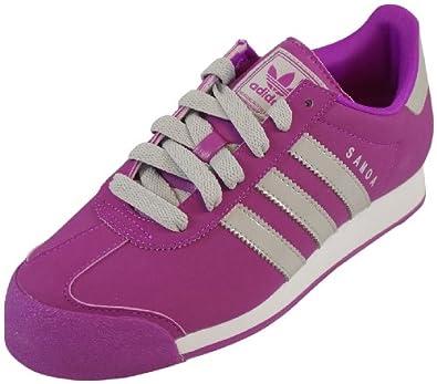 Amazon.com: Women's Adidas Samoa W Vivid Pink Grey Athletic Shoes (7.5