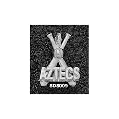 San Diego State Aztecs Bats - 14K Gold by Logo Art