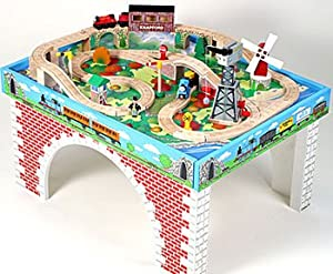 thomas friends train table and set toys. Black Bedroom Furniture Sets. Home Design Ideas