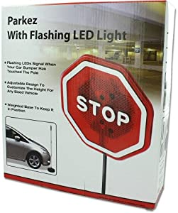 Amazon Com Parkez Flashing Led Light Parking Stop Sign
