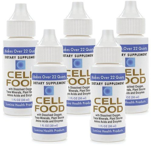 CELLFOOD Liquid Concentrate, 1 oz - 5 BOTTLES