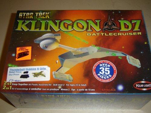 Star Trek Klingon D7 Battecrusier Polar Lights (Polar Lights Model compare prices)