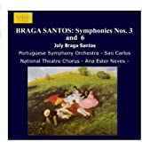 ブラガ・サントス:交響曲第3番, 第6番