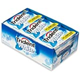 Trident White Sugar Free Peppermint Gum, 16 Pieces (Pack of 9)