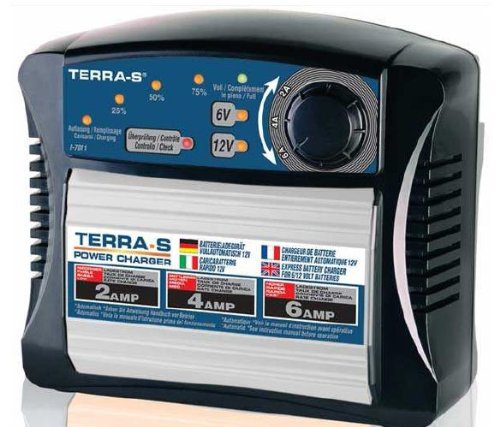 TERRA-S Batterieladegerät I-7011 - 6 und 12V