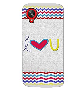 PrintDhaba Quote D-4825 Back Case Cover for LG GOOGLE NEXUS 5 (Multi-Coloured)