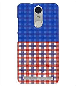 PrintDhaba Pattern D-3948 Back Case Cover for LENOVO K5 NOTE (Multi-Coloured)