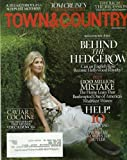 Town & Country Magazine November 2011 Rosamund Pike Caviar & Cocaine