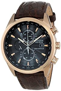 Citizen Men's AT8013-17E Eco-Drive Limited Edition World Chronograph A-T Watch