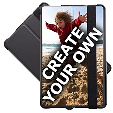 Marware Black Folio Microshell Kindle Fire Cover - 'Create Your Own'
