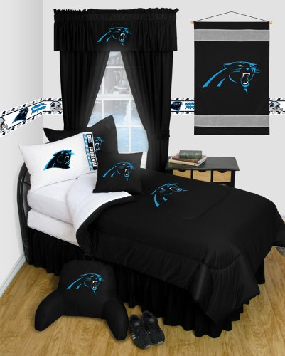 Fresh Black Friday Carolina Panthers Queen Size Locker Room Bedroom Set