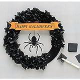 Martha Stewart Crafts Spooky Night Tissue Wreath Kit, 48-20413