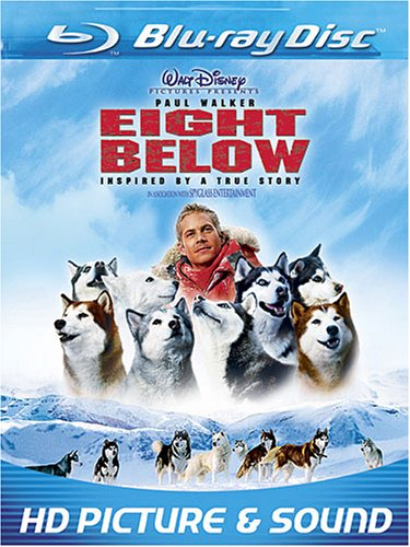 Cover art for  Eight Below [Blu-ray]